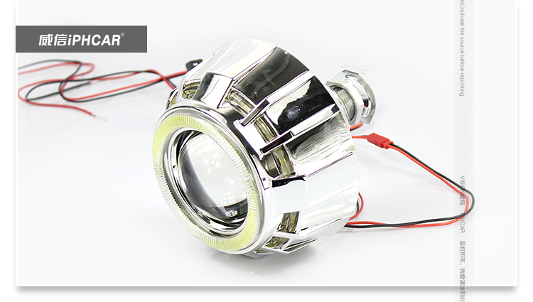 Cob Led DRL Hid Bi xenon Projector Headlight 2.5INCH Mini Projector Lens H1 Hid Xenon Bulb With Projector Shroud 3inch