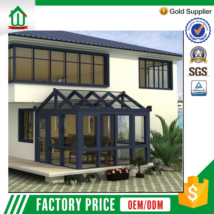 Manufactory wholesale luxury aluminum used sunroom