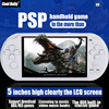 5.0 Inch Big LCD Screen PSP Handheld Game Console Built -in 400 Games Support MP4 Video,Audeo