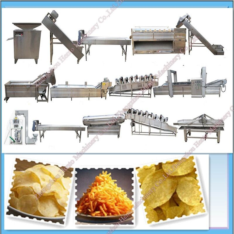 Full Automatic Frozen French Fries Production