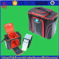 2016 High Quality Fitness 5 Meal lunch cooler bag with Food container and Frame