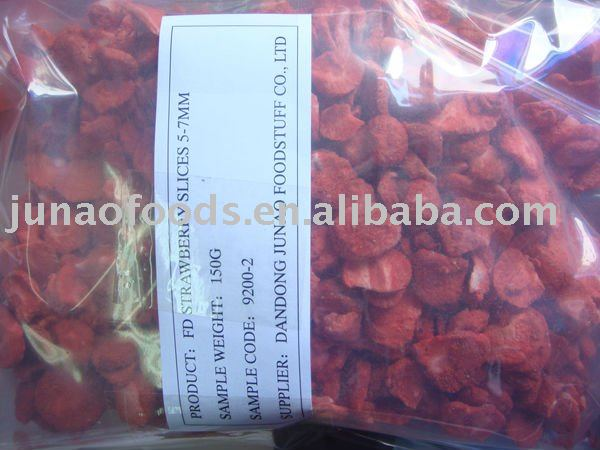 Chinese Freezing dried strawberry