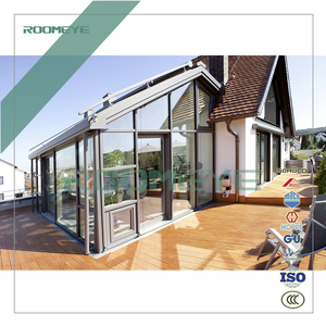 Wood Aluminum sunroom/ custom double glazed conservatory