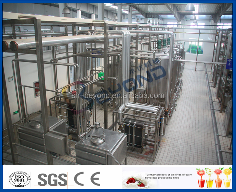 Automatic Small Milk Processing Plant Pasteurized For Milk Beverage / Processing