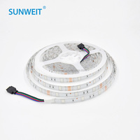 CE ROHS approved 5050 waterproof 12v 30leds/M led strip