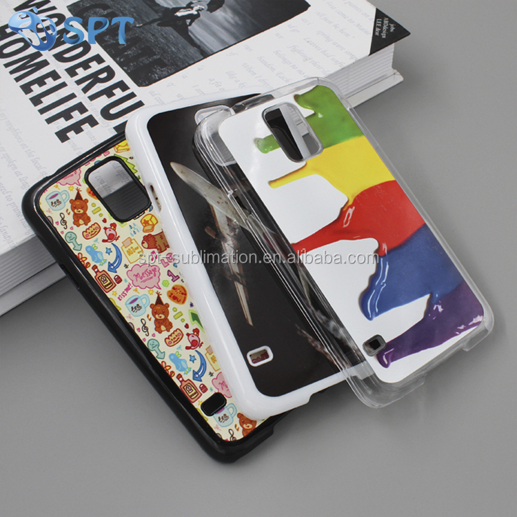 2017 newest blank 2d sublimation card insert phone case for samsung S5