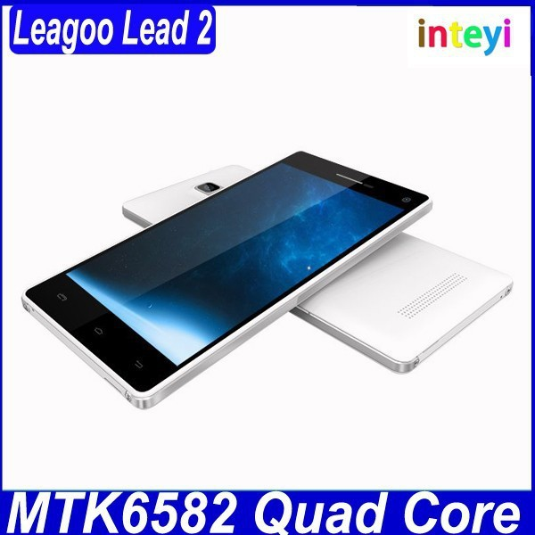 China Brand Cheap Original Leagoo Lead2 Mtk6582 Quad Core 1GB Ram 4GB Rom Android 4.4.2 Mobile Phone