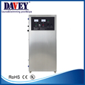 Davey oxygen source ozone generator for swimming pool water disinfection
