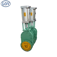 LOV DN250 High Quality Pneumatic Actuated Ceramic Full Lining Gate Valve