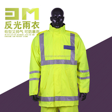 Safety Depot Two Tone Lime Yellow Black Reflective Class 3 Safety Bomber Jacket Reversible With Zipper and Pockets