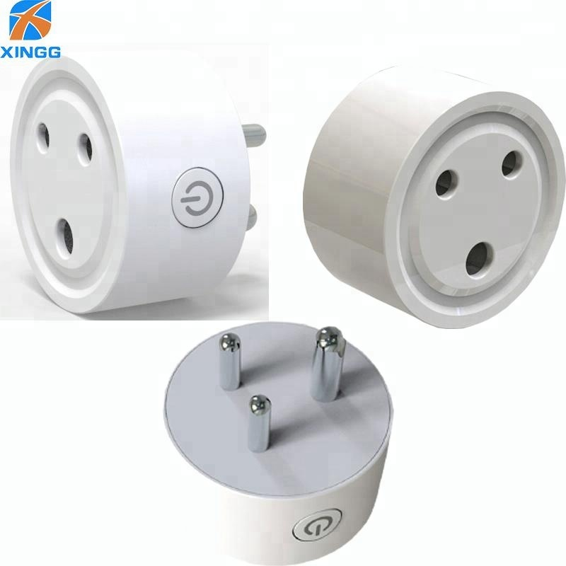 2018 Mini Wifi Power Outlet 3 Round pin Smart Home <strong>Plug</strong> For India