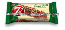 SWISS ROLL 7 DAYS STRAWBERRY DECORATION 200g
