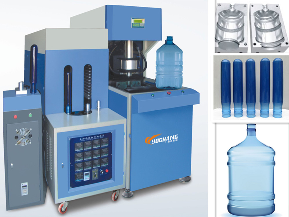 5 gallon bottle blowing machine 20 liters 1 cavity bottle machine manufacturer for plastic water bottle