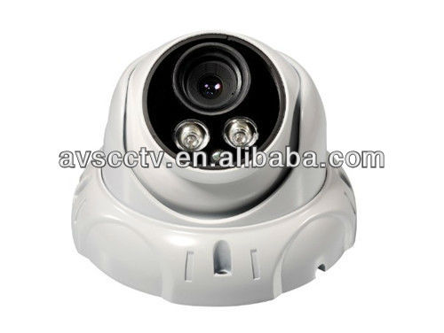 Sharp CCD 400TVL 8mm IR Night Vision Color Dome CCTV Camera