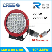 Guangzhou Auto Parts High Power 18800LM 225W LED Work light, 10 inch 225w LED Driving Light for 4X4