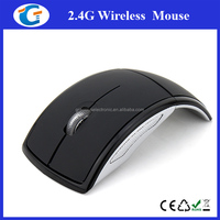 custom foldable optical wireless mouse for laptop