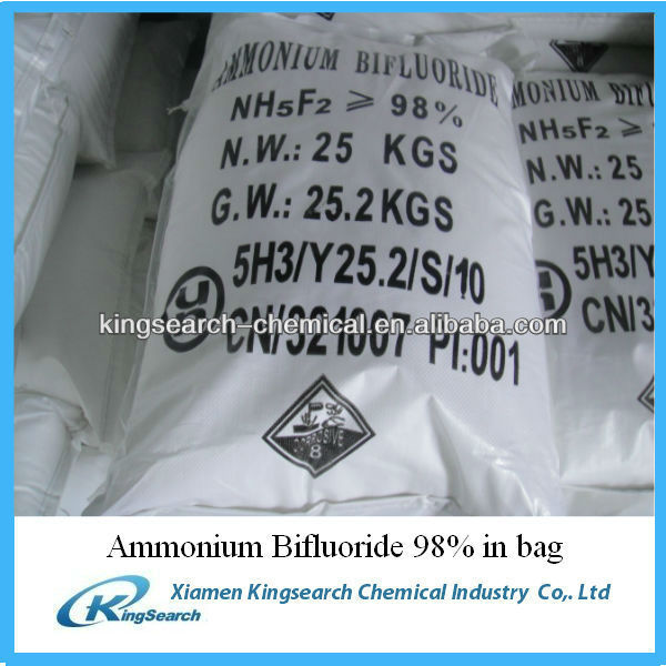 ammonium bifluorid 98% ABF from China with best price