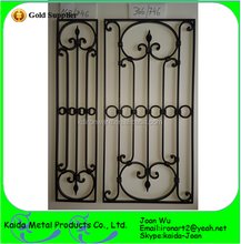 Simple Iron Window Grills Design