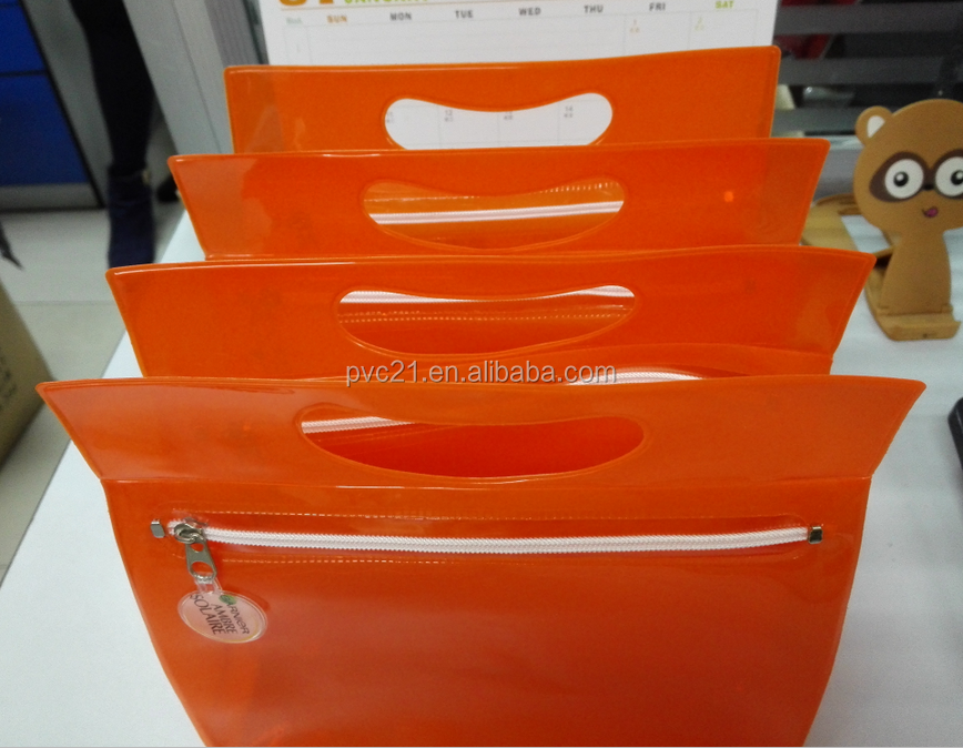 2016 Plastic Beach Bag PVC bags Clear PVCBag PVC Zipper Bag hot sale on Alibaba