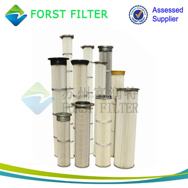 FORST Antistatic Collector Dust Filter Bag Pleated for Industry