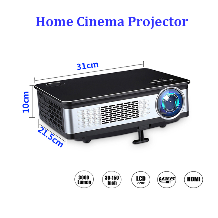 China hot product imax full hd 1080p led 3d projector for living room
