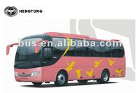 Hengtong 8 meter middle size tour bus CKZ6790CH of 25 seater bus