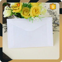 Glassine Stamp envelope white paper envelope