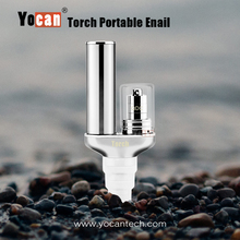 Yocan newest 2in1 smoking dab rig Yocan Torch battery-operated portable enail for glass pipe