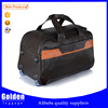 leather material high quality travelling bags men's business leisure trip trolley luggage
