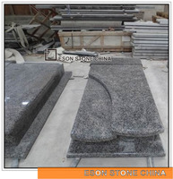 Eson Stone granite misty impala grey granite monument