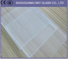 Solar Panel Glass Low-Iron Patterned Glass With AR Coating