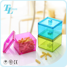 Cheap price wholesale plastic snack bins container acrylic candy box