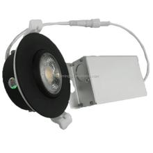 Led eyeball 3 cct selectable trimless led recessed downlight