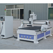 T-slot and Vaccum Table 1300x2500 3D Wood Door Making Engraving CNC Router Cutting From Jinan CITY