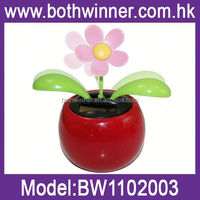 SQ196 promotional gifts 2015 mini solar flower