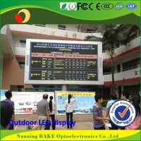 P16 outdoor high brightness advertisement led display prayer time display