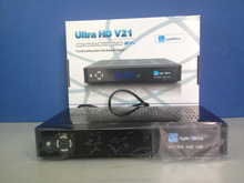 Price cut down on sale for HD 1080p fta satellite receiver jyazbox ultra hd v21 with jb200 module and wifi
