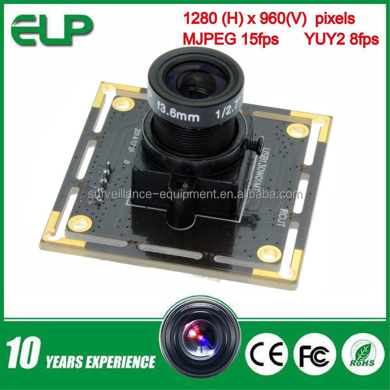 ELP 1.3 mp Aptina low illumination micro mini free driver usb 2.0 jpeg webcam for android