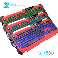 R8 2014 Newest Illuminated Metal Keyboard Mechanical Keyboard