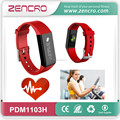personal health care fitness tracker 3D pedometer smartphone call message alert optical heart rate sensor smart heart rate watch