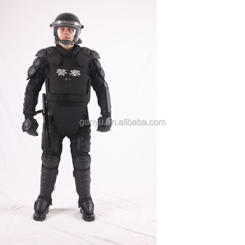 police riot suit in riot suitation
