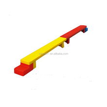 High quality single plank bridge amusement equipment for children