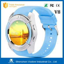 Long Lifetime Blue Bluetooth Music Player Best Smart Watch On The Market