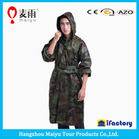 Hooded Waterproof Military Hunting Camo Poncho