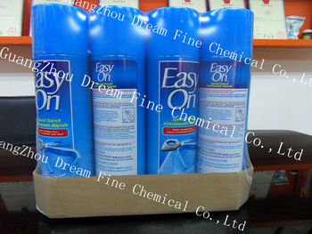 Easy On spray starch in tray