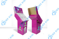 display stand dump bin displays rack red colors printing sweet baby products paper