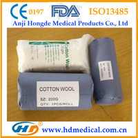HD-30695 For Surgical Cleaning Medical Cotton Roll Surgical Products Dressing Sugical Disposable Item