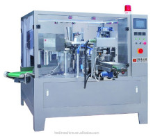 price premade pouch best chili sauce rotary packing machine