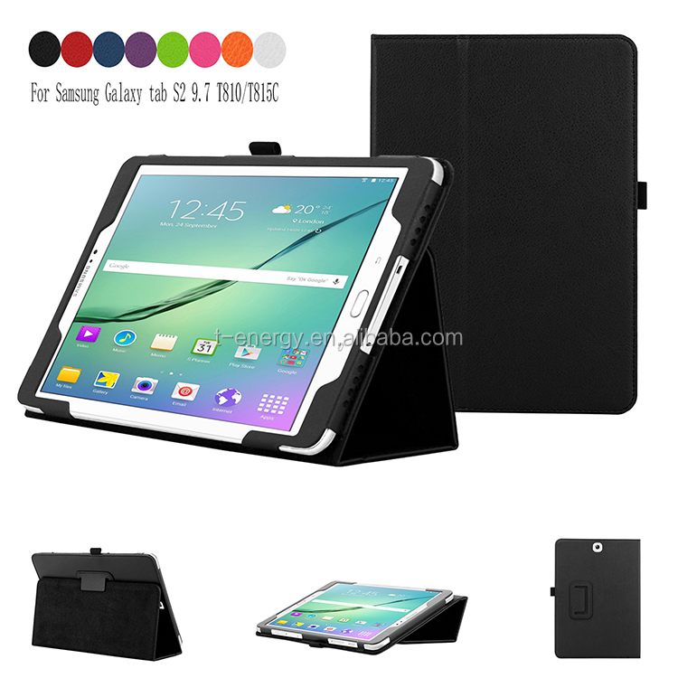 China Manufacturer Cute Tablet Case Mobile Phone Leather Case For Samsung Galaxy Tab S2 9.7