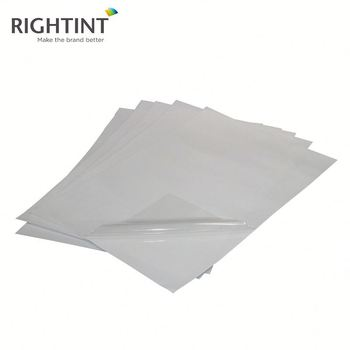 100% Tested Non Adhesive Electrostatic Vinyl Static Cling Window Film